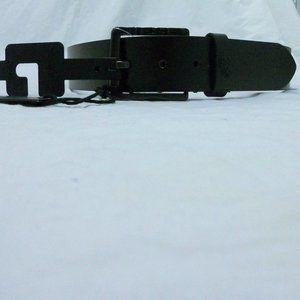 Diesel Belt 32 Italy T8013 PolDo NWT Black Logo